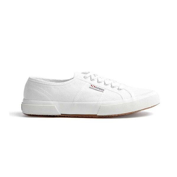 【SUPERGA】義大利國民鞋-白