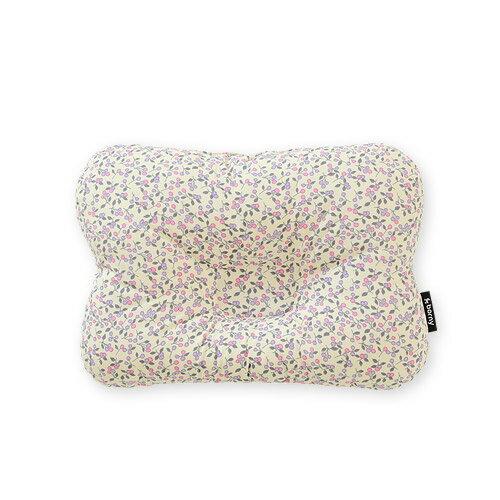 韓國【 Borny 】 3D透氣蜂巢塑型嬰兒枕(0~6個月適用) (奶油白) - 限時優惠好康折扣