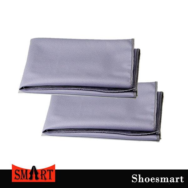【鞋之潔】SHOESMART超細纖維拋光布2條裝 30x30公分 高科技超細纖維 拋光無刮痕 也適於3C產品