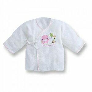 『121婦嬰用品館』KUKU 小森林紗布反手袖肚衣 0