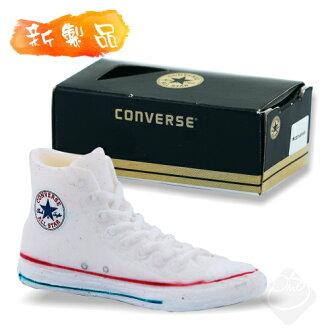 日本【Converse】造型橡皮擦(白)BH038-88/帆布鞋橡皮擦/高筒帆布鞋/經典鞋款/ALL STAR