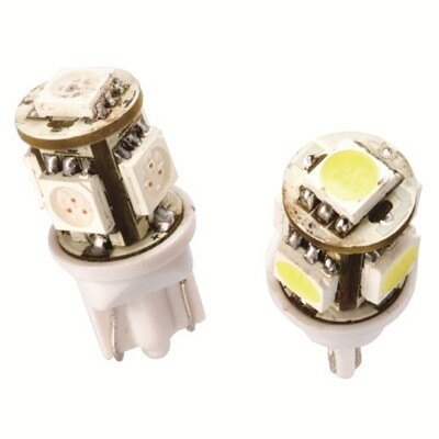 D&J ★ 日本高亮度T10 LED燈白光(一組二入)
