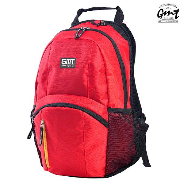 E&J【011011-02】免運費,GMT挪威潮流品牌 專業電腦背包 紅色 附15吋筆電夾層;登山包/雙肩豬鼻包