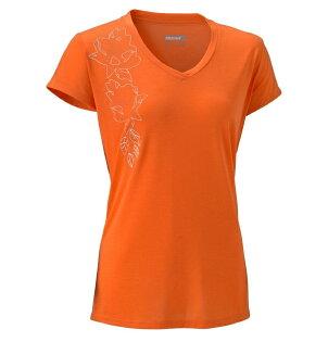 Marmot 美國 | 女款 Indie 防曬排汗快乾短袖上衣 | 秀山莊(M66040)