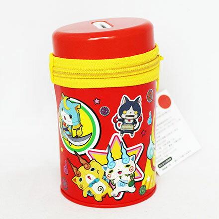 【敵富朗超巿】妖怪手錶拉鍊圓罐存錢筒 3