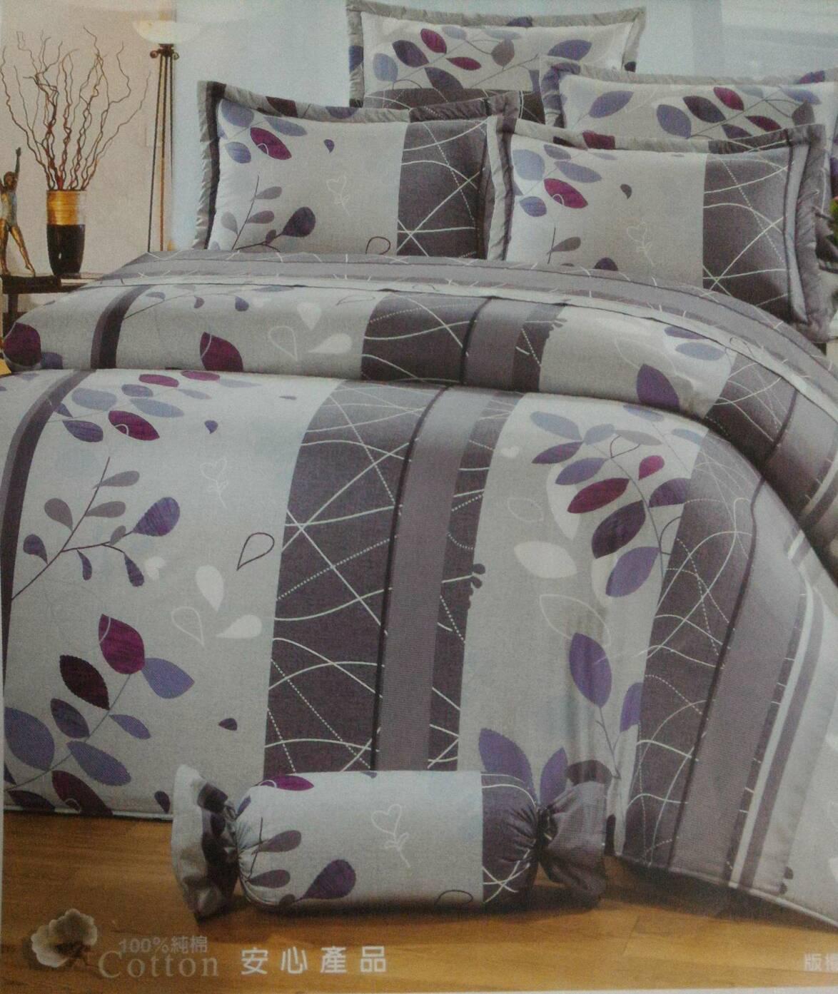 [床工坊]台製高級精梳棉 (雙面花床罩六件組+贈品)/雙面花床包4件組-起毛球保固款 0