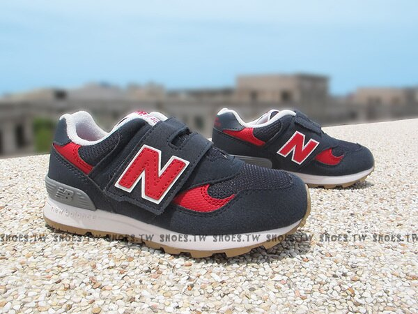 Shoestw【FS313BRI】NEW BALANCE 313 小童鞋 運動鞋 深藍 紅