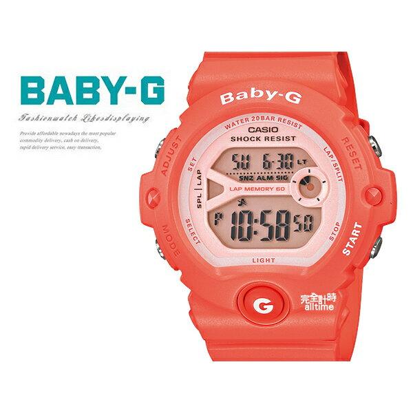 【完全計時】手錶館│BG-6903-4DR 甜美運動 /手錶/NY/水蜜桃BG/BABY-G 禮物現貨casio