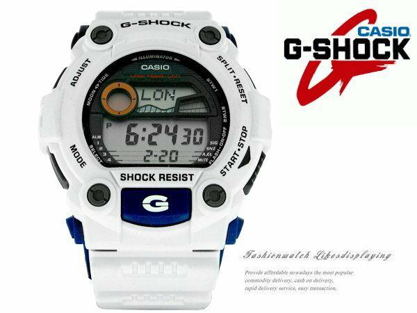 【完全計時】手錶館│多層次機器人鋼彈G-7900A-7DR 大錶徑50mm/禮物/BK/gk/casio現貨