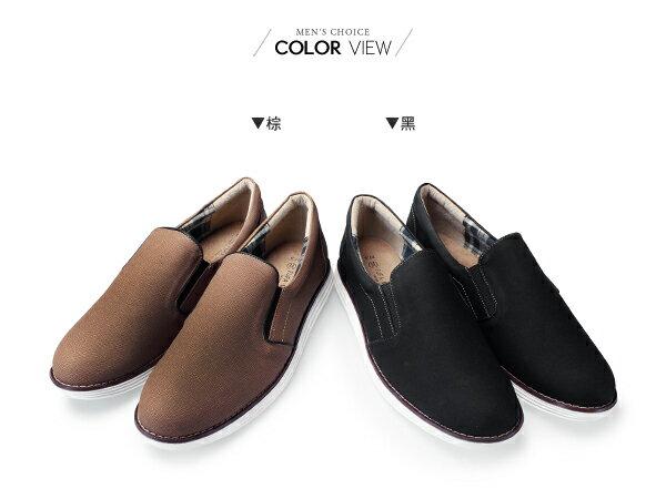 ☆BOY-2☆【NKP-FTP07】紳士細紋皮革懶人鞋 1
