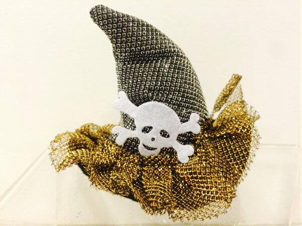 X射線【W485080】骷髏巫婆帽髮夾,萬聖節/派對用品/舞會道具/cosplay/角色扮演/聖誕節/表演/情趣/園遊會/校慶