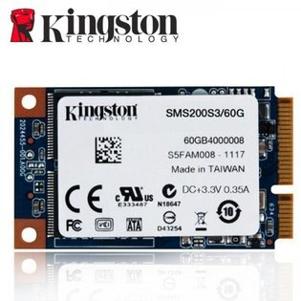 *╯新風尚潮流╭*金士頓 60G SSDNow mS200 mSATA 固態硬碟 SMS200S3/60G