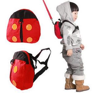 瓢蟲造型防走失帶 學步背包
