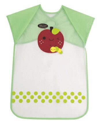 『121婦嬰用品館』拉孚兒 擦可淨用餐圍兜(加長型) - 蘋果 0