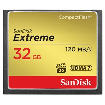 可傑 Sandisk Extreme CF 32GB 120MB/s 800X