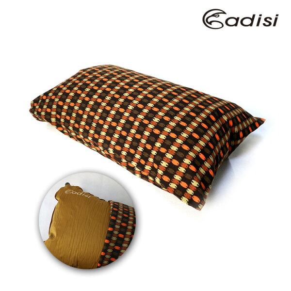 ADISI 格紋枕頭套AS16122 /城市綠洲專賣(四方形.規則型.露營.枕頭套)