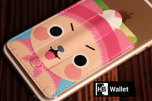 【HB Wallet】插卡錢包 支架插卡背貼(可搭配超薄透明防塵手機殼)