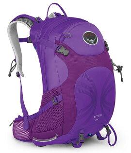 【鄉野情戶外專業】 Osprey |美國|  SIRRUS 24 登山背包《女款》/自助旅行背包 健行背包 運動背包-紫XS/S/Sirrus24 【容量24L】