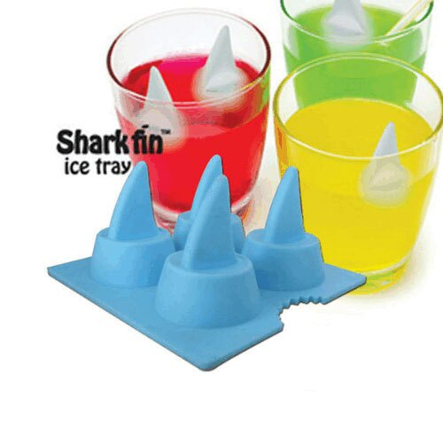 ~C13060504~夏日鯊魚牙齒 製冰格冰盒 冰塊模具 冰杯 ~  好康折扣