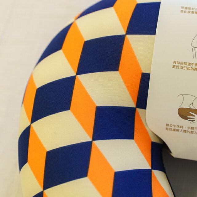 70年代普普風 頸枕  紓壓/休息 便利實用   3色可選 7