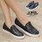 格子舖*【KI804】MIT台灣製 率性流行幾何圖形亮面皮革 鬆緊穿拖休閒懶人鞋 2色 0