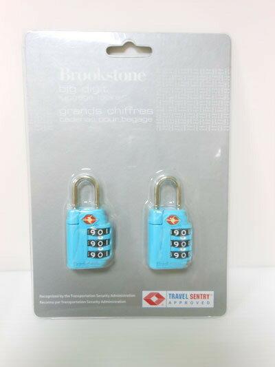 旅遊用品 三碼式行李鎖1組(顏色隨機) 1