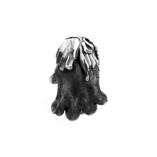 【海外訂購】【Bloody Mary】Aslan 阿斯蘭獅爪純銀耳環 煙晶石(BME1383-Sq  0897340000) 3
