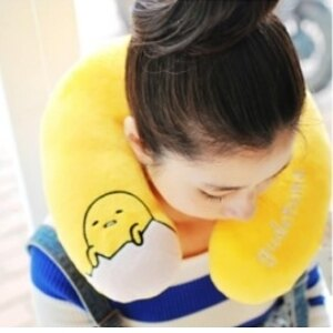 美麗大街【105032010A】蛋黃哥U型枕 頸枕