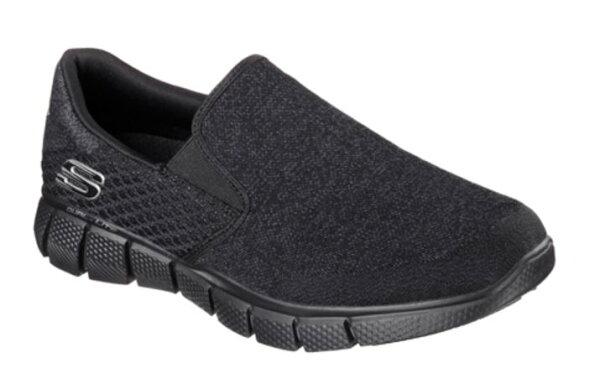 [陽光樂活]SKECHERS (男) 時尚休閒系列 RELAXED FIT Air-Cooled 健走鞋 休閒鞋- 51521BBK  US10.5