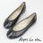 經典芭蕾舞平底娃娃鞋(二色)Aimez La Vie - 限時優惠好康折扣