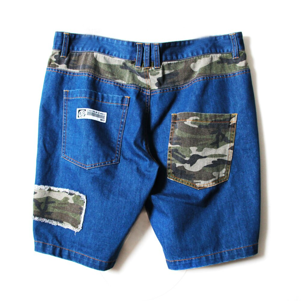 STAGE REMAKER CAMO SHORTS 軍綠色 4