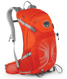 【鄉野情戶外專業】 Osprey  美國   STRATOS 24 登山背包/自助旅行背包 健行背包-太陽橙M/L-/Stratos24 【容量24L】