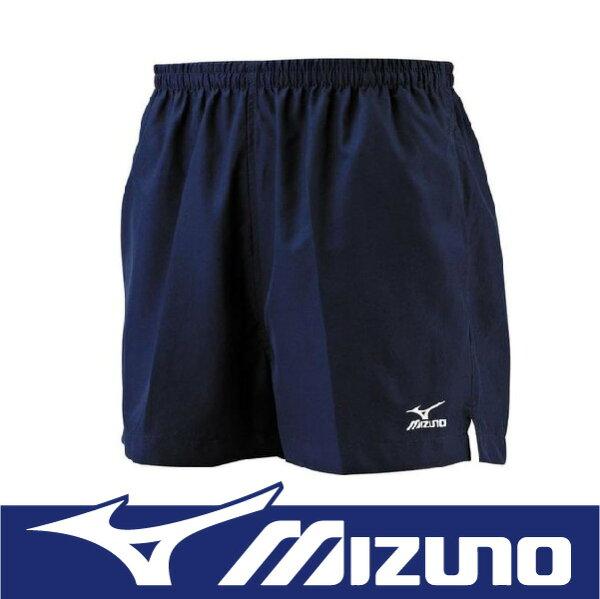 【特價7折!】萬特戶外運動 MIZUNO 美津濃 J2TB4A5414 男路跑褲 舒適 背部口袋設計 深丈青色