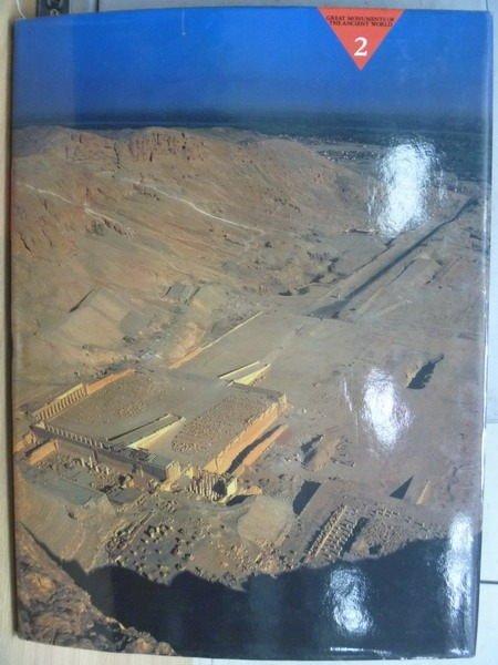 ~書寶 書T4/歷史_YEA~尼羅河畔的皇陵與神殿_世界遺蹟大觀2_ 1500 ~  好康