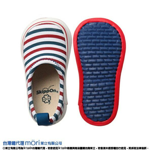 日本熱賣SkippOn幼兒戶外機能鞋-紅藍條紋