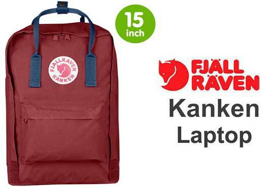 瑞典 FJALLRAVEN KANKEN laptop 15inch 326-540公牛紅/皇家藍  小狐狸包 0