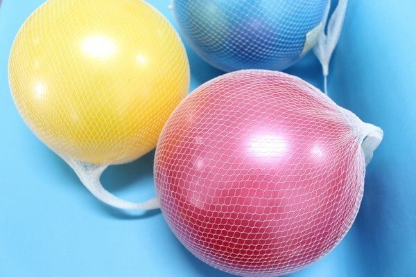 珠光球 安全球 兒童玩具球 橡膠球 充氣球 直徑約24cm/一個入{定80}
