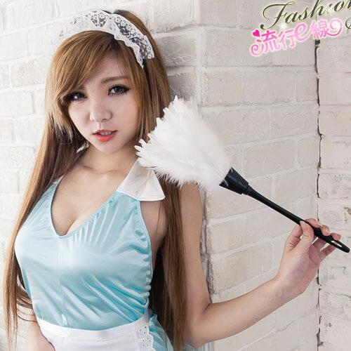性感女僕裝配件 角色扮演服cosplay服裝加分配件白色羽毛撢子~流行E線K052