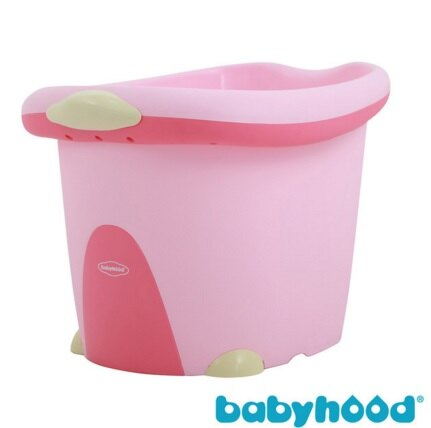 【安琪兒】【Babyhood】泡泡鴨二合一浴桶-粉色 1