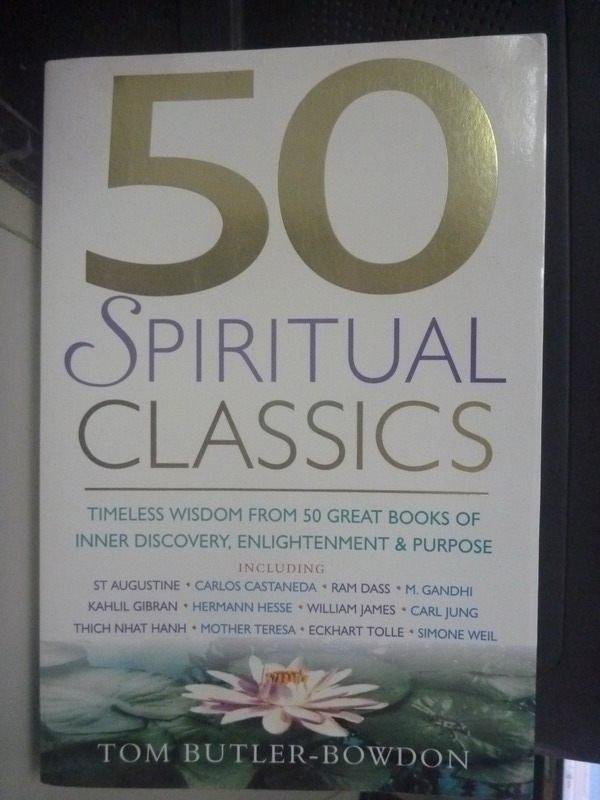 ~書寶 書T7/哲學_ZCS~50 Spiritual Classics_Butler~B