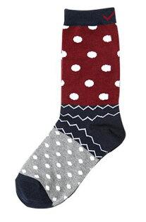 [陽光樂活] PONY APPAREL 長襪 53U3AH86RD 紅x藍x灰x白(2雙一組)台灣製