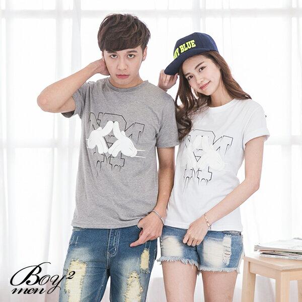 ☆BOY-2☆ 【IT8005】情侶韓版潮流米老鼠手套短袖T恤 3