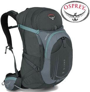 Osprey Manta AG 36 登山背包/健行背包/單車包/水袋背包 男款 灰 附贈水袋 背包套 台北山水