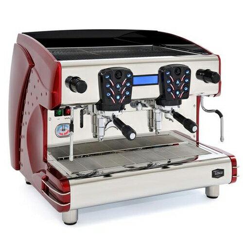營業用咖啡機LA SCALA義大利雙孔半自動咖啡機【Tosca-A2 液晶螢幕型】公司貨