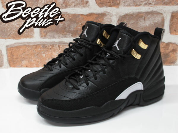 女生 BEETLE AIR JORDAN 12 THE MASTER 喬丹 AJ12 黑白 黑金 153265-013 1