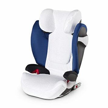 【安琪兒】德國【Cybex】原廠汽車安全座椅透氣座套-白色(通用款) 1
