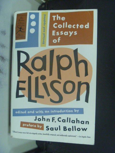 ~書寶 書T4/原文書_GOV~The Collected Essays of Ralph