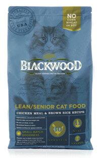 ★優逗★WDJ推薦 Blackwood 柏萊富天然寵糧 特調成貓低卡配方(雞肉+糙米) 1LB/1磅