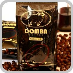 DOMBA COFFEE巴里島小綿羊公豆咖啡單包裝 (每包半磅裝)