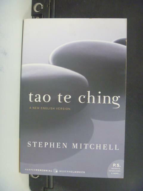 ~書寶 書T9/宗教_OMC~Tao Te Ching_Lao字 Mitchell ~